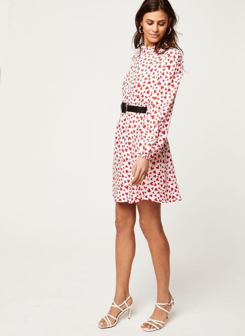 Vêtements Vila Viheart L/S Short Dress Rouge vue bas / vue portée sac