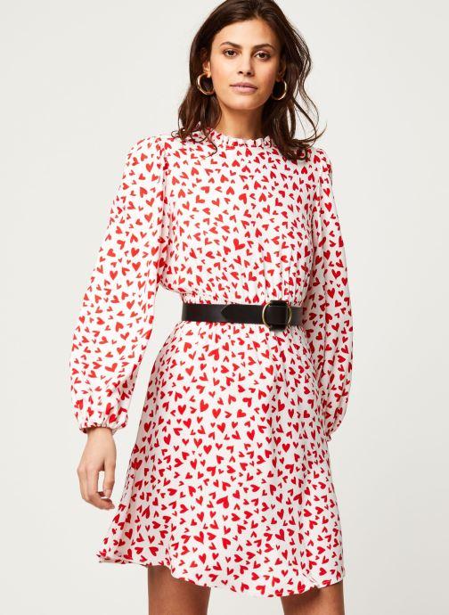 Vêtements Vila Viheart L/S Short Dress Rouge vue droite