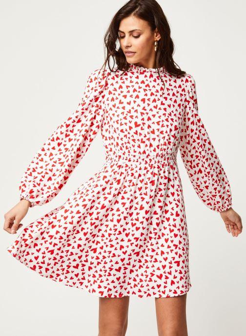 Vêtements Vila Viheart L/S Short Dress Rouge vue détail/paire