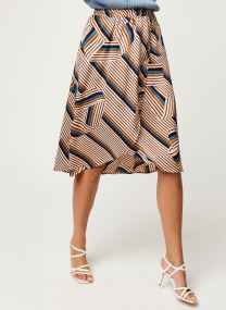 Vidoletta Graphic Wrap Skirt