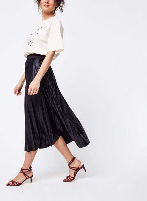 Vêtements Vila Vinitban Skirt Noir vue bas / vue portée sac