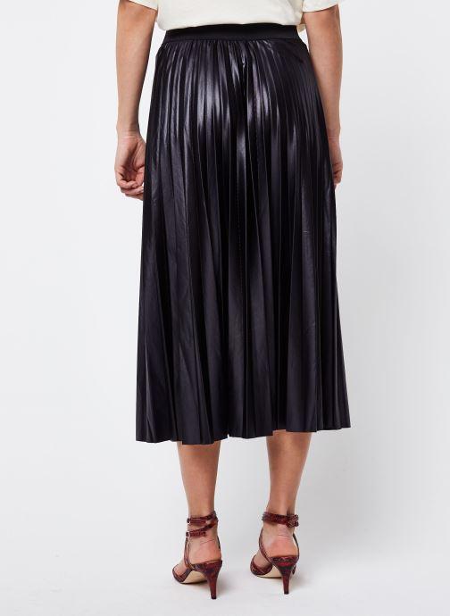 Vêtements Vila Vinitban Skirt Noir vue portées chaussures
