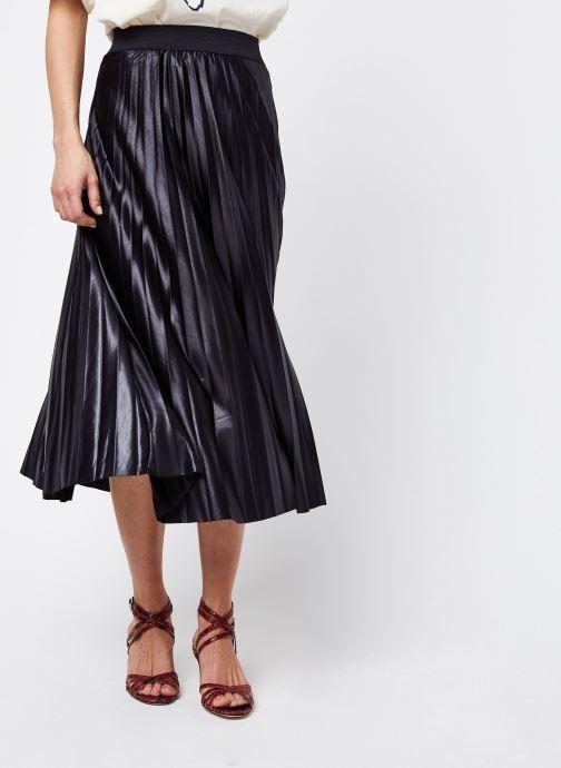 Vêtements Vila Vinitban Skirt Noir vue détail/paire