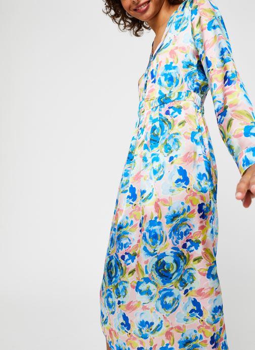 Vêtements Vila Viakvaralla L/S V-Neck Midi Dress Bleu vue détail/paire
