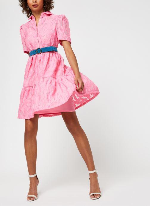 Vêtements Vila Vijaga S/S Dress Rose vue bas / vue portée sac