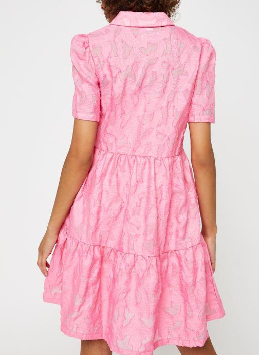 Vêtements Vila Vijaga S/S Dress Rose vue portées chaussures