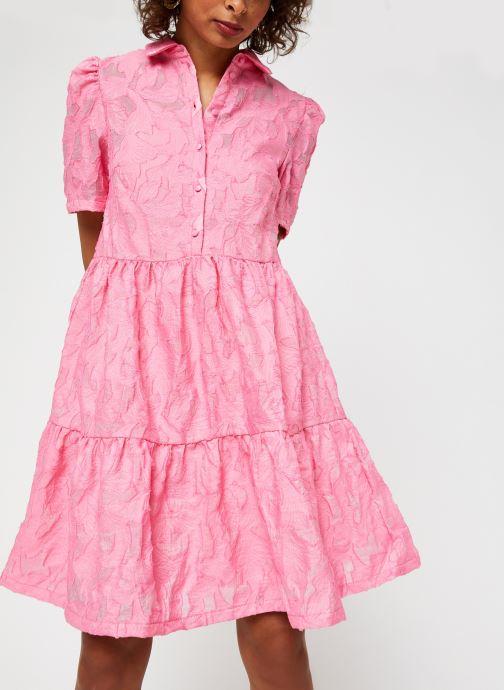 Vêtements Vila Vijaga S/S Dress Rose vue droite
