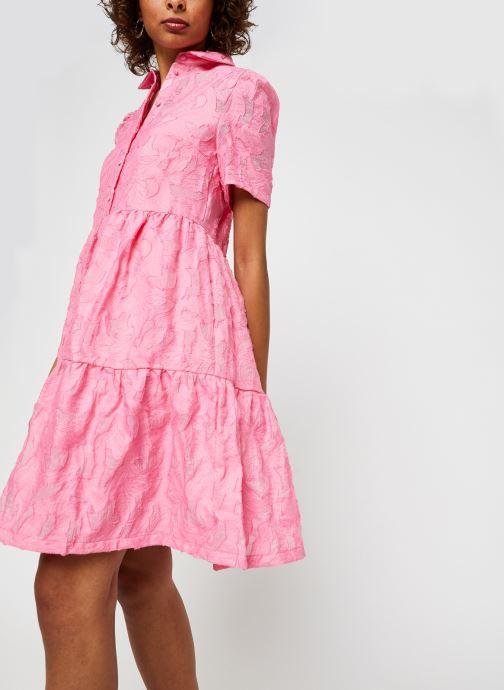 Vêtements Vila Vijaga S/S Dress Rose vue détail/paire