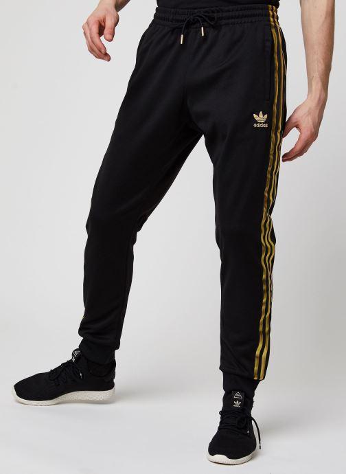 Vêtements adidas originals Sst50 Track Pant 24K Noir vue détail/paire