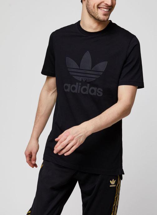 Vêtements adidas originals Sst50 Warmup Tee Noir vue détail/paire
