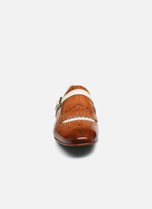 Schuhe mit Schnallen Melvin & Hamilton Clive 17 braun schuhe getragen