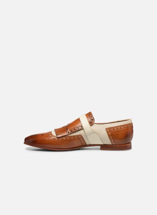 Schuhe mit Schnallen Melvin & Hamilton Clive 17 braun ansicht von vorne