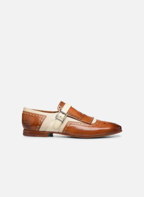 Schuhe mit Schnallen Melvin & Hamilton Clive 17 braun ansicht von hinten