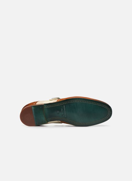 Schuhe mit Schnallen Melvin & Hamilton Clive 17 braun ansicht von oben