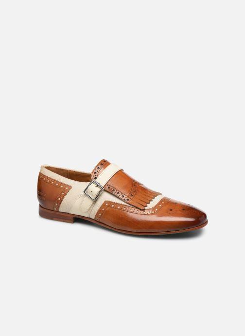 Schuhe mit Schnallen Melvin & Hamilton Clive 17 braun detaillierte ansicht/modell