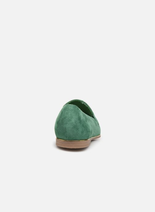 Loafers Damart Charlotte Green view from the right