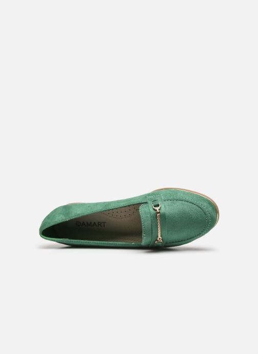Loafers Damart Charlotte Green view from the left