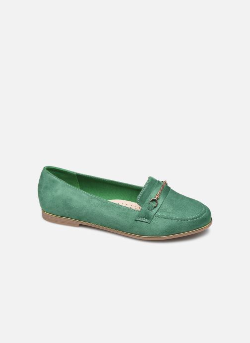 Loafers Damart Charlotte Green detailed view/ Pair view