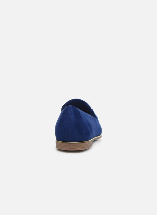 Loafers Damart Charlotte Blue view from the right