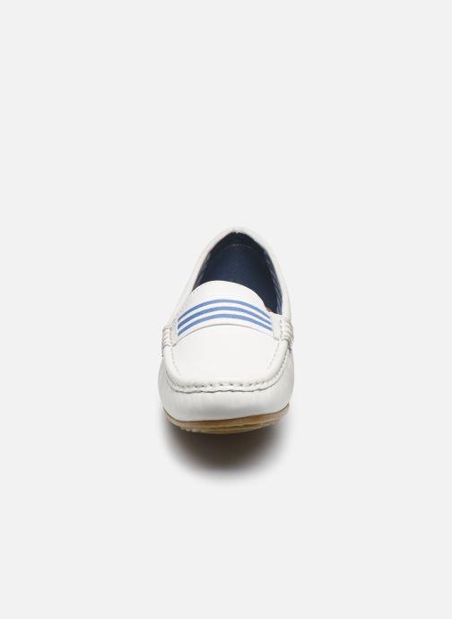 Mocassins Damart Louane Blanc vue portées chaussures
