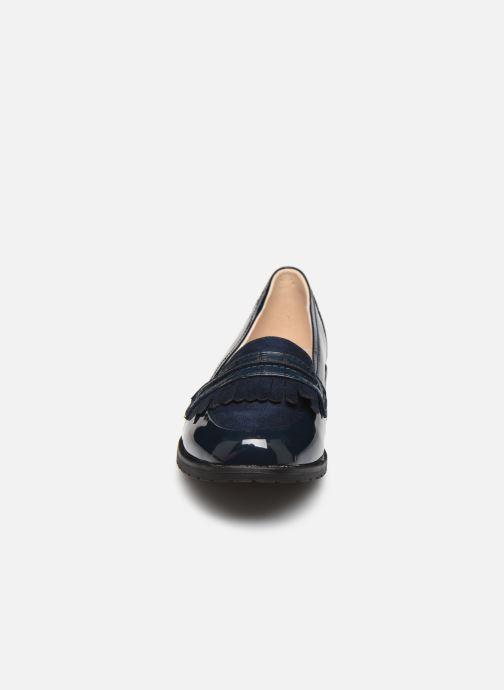 Mocassins Damart Adeline 2 Bleu vue portées chaussures
