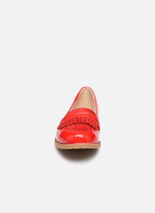 Mocasines Damart Adeline 2 Rojo vista del modelo