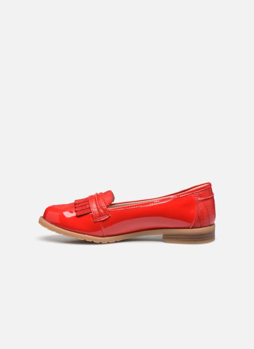 Mocassins Damart Adeline 2 Rouge vue face