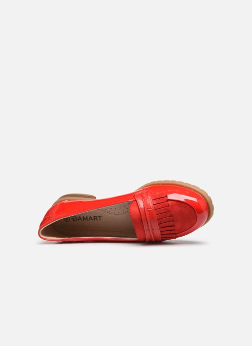 Loafers Damart Adeline 2 Red view from the left