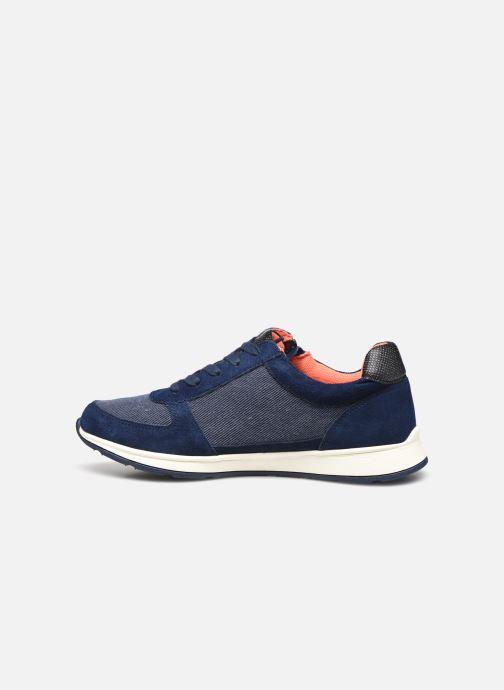 Sneaker Damart Annette / Amortyl blau ansicht von vorne