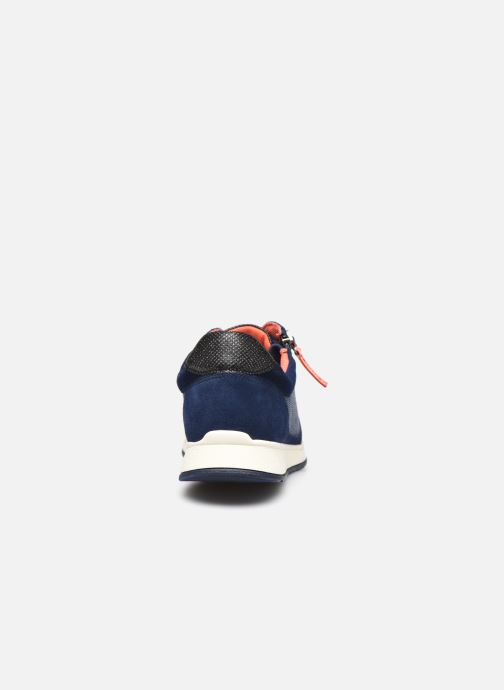 Trainers Damart Annette / Amortyl Blue view from the right