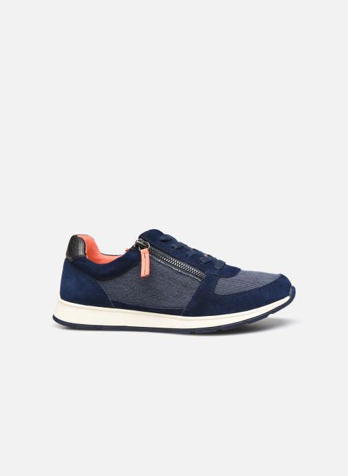 Sneaker Damart Annette / Amortyl blau ansicht von hinten