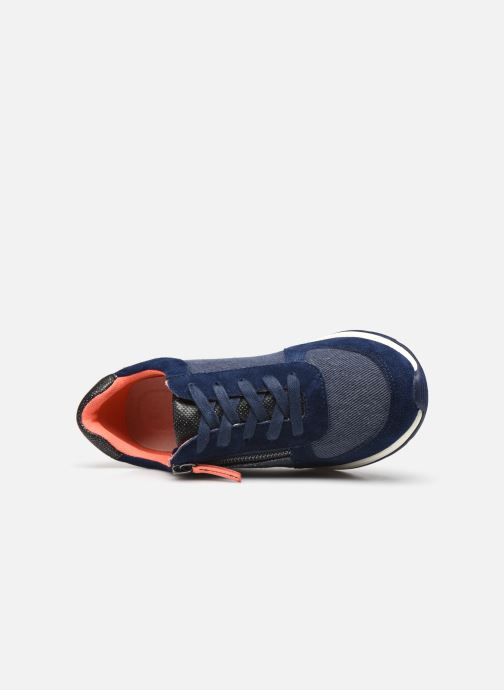 Trainers Damart Annette / Amortyl Blue view from the left