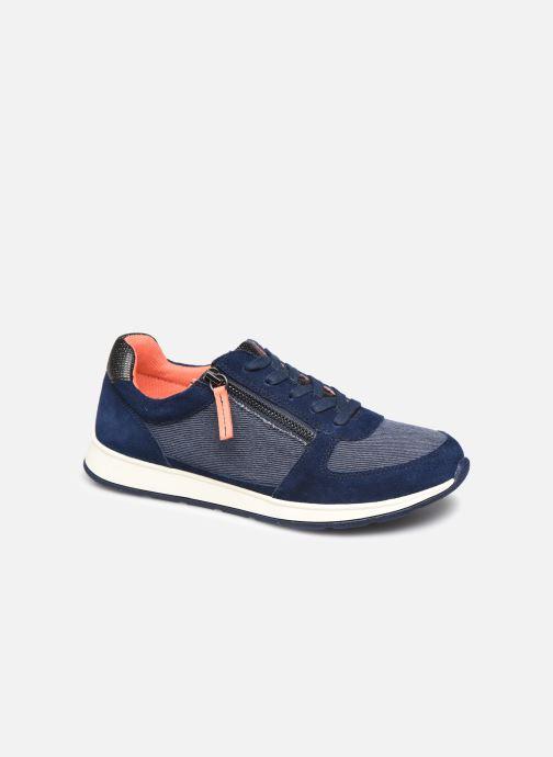 Sneaker Damart Annette / Amortyl blau detaillierte ansicht/modell