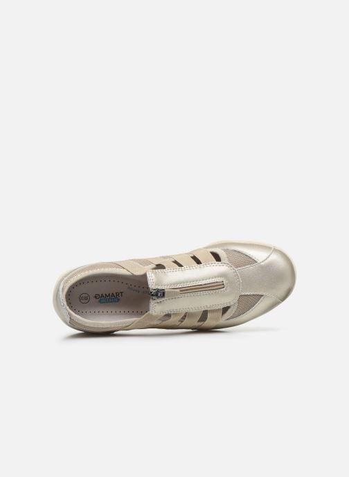 Sneakers Damart Noémie / Ocealis Oro e bronzo immagine sinistra