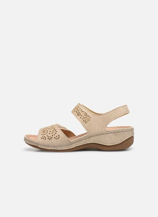 Sandals Damart Abbie / Piedical Beige front view