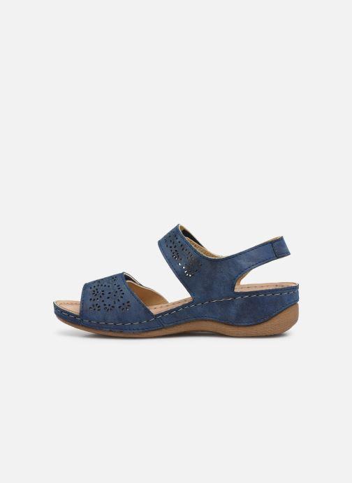 Sandalen Damart Abbie / Piedical blau ansicht von vorne