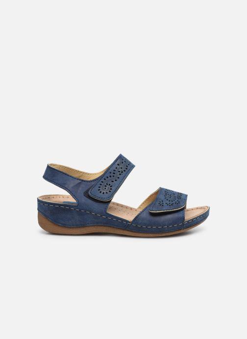 Sandals Damart Abbie / Piedical Blue back view