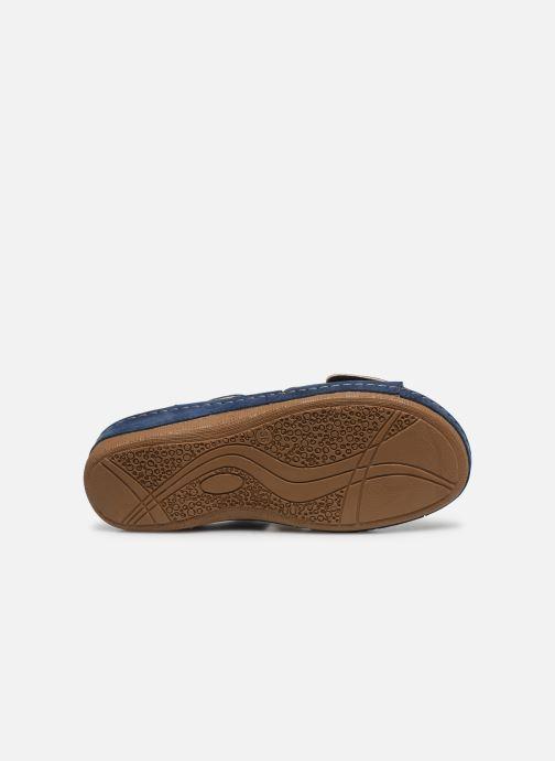 Sandalen Damart Abbie / Piedical blau ansicht von oben