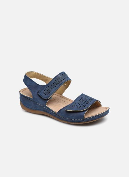 Sandals Damart Abbie / Piedical Blue detailed view/ Pair view