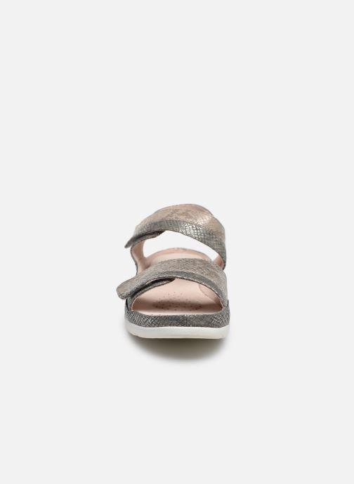 Sandalias Damart Clarisse / Piedical Gris vista del modelo