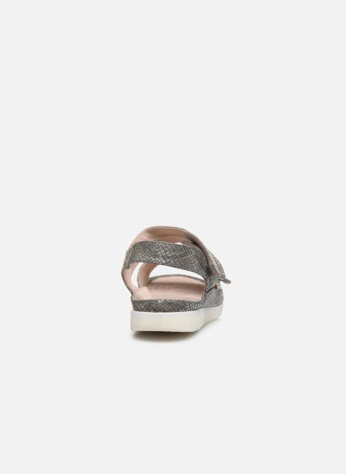 Sandalias Damart Clarisse / Piedical Gris vista lateral derecha
