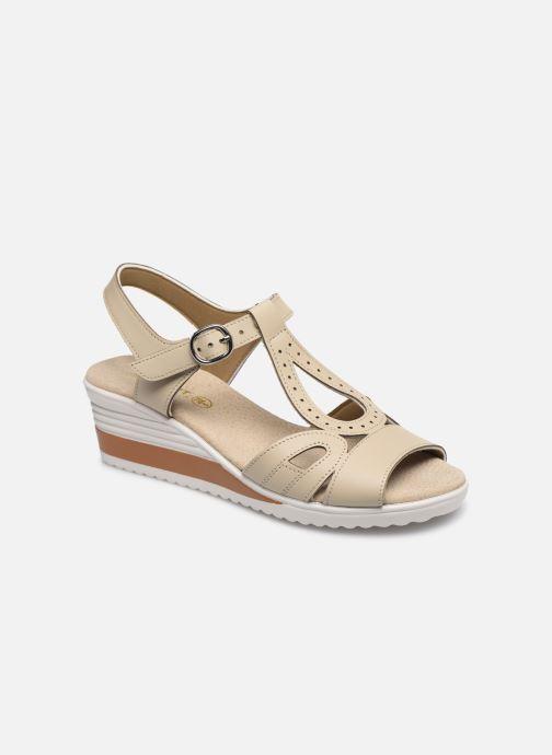 Sandals Damart Laura / Piedical Beige detailed view/ Pair view