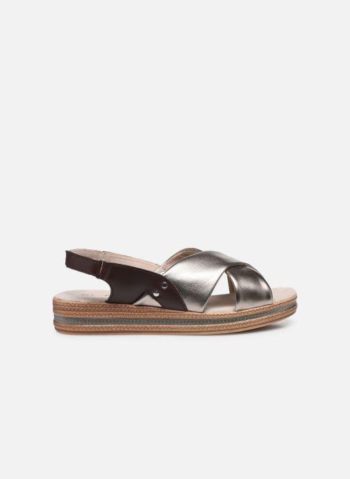 Sandalen Damart Léa silber ansicht von hinten