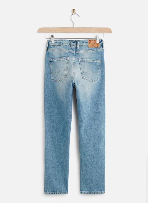 Vêtements Pepe jeans Denim Pants Dion 7/8 Bleu vue bas / vue portée sac