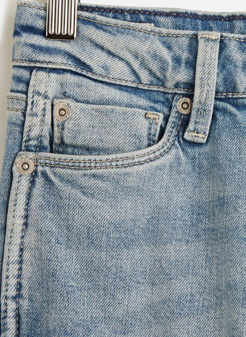 Vêtements Pepe jeans Denim Pants Dion 7/8 Bleu vue portées chaussures