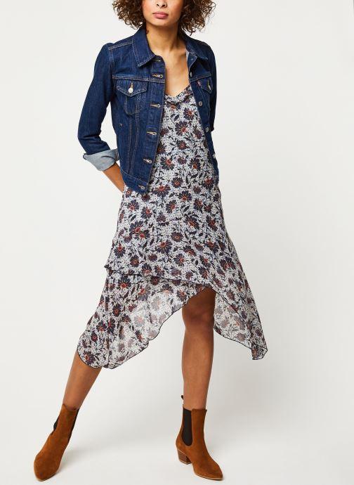 Vêtements Pepe jeans Dresses Carlota Bleu vue bas / vue portée sac