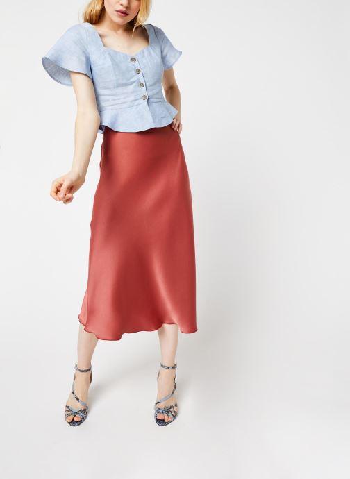 Vêtements Pepe jeans Shirts Emily Bleu vue bas / vue portée sac