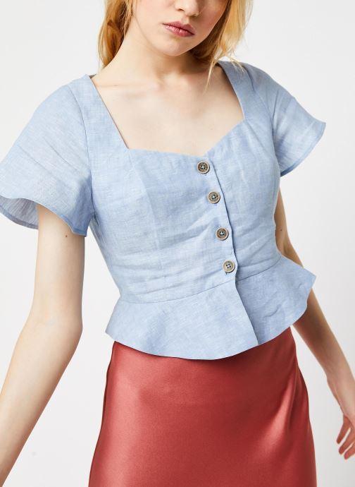 Vêtements Pepe jeans Shirts Emily Bleu vue détail/paire