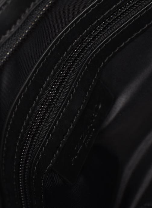 Borse uomo Azzaro EMBUSC POCHETTE PLATE Azzurro immagine posteriore