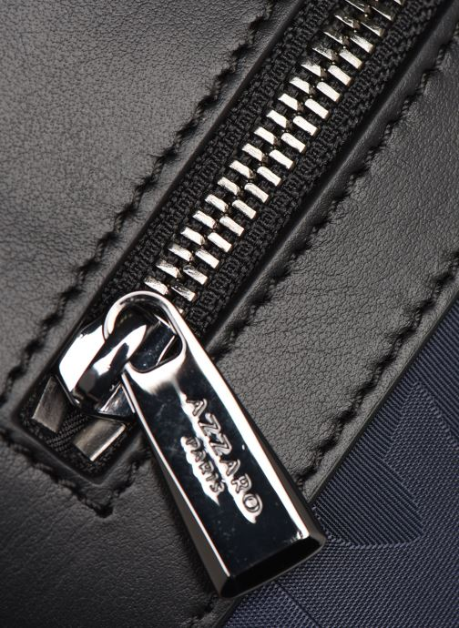Bolsos de hombre Azzaro EMBUSC POCHETTE PLATE Azul vista lateral izquierda